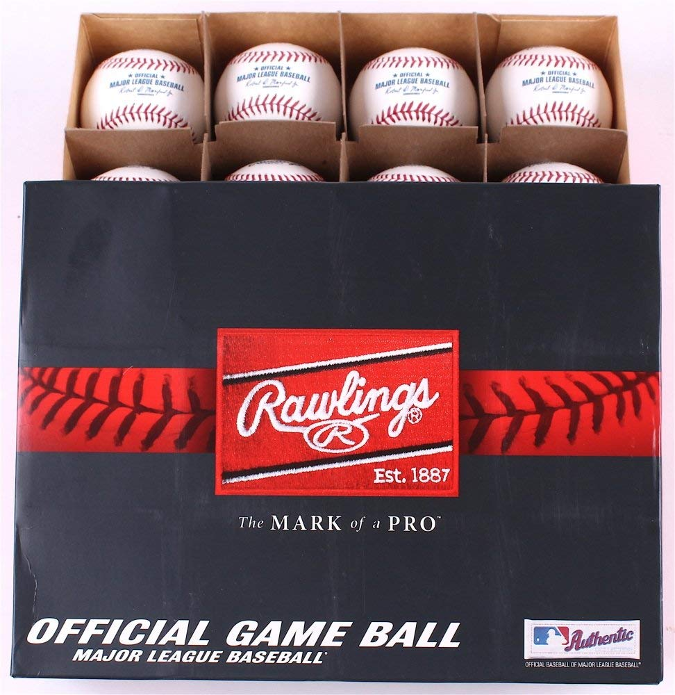 a106afabd ... Rawlings Major League Baseball Black   Gold Official Game Ball