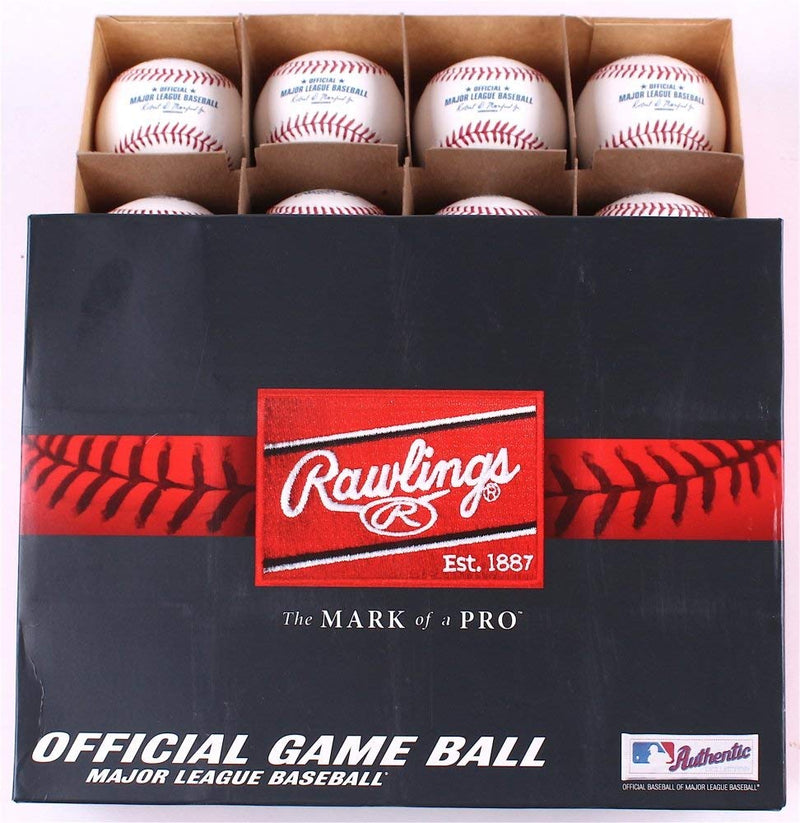Rawlings Major League Baseball Black & Gold Official Game Ball