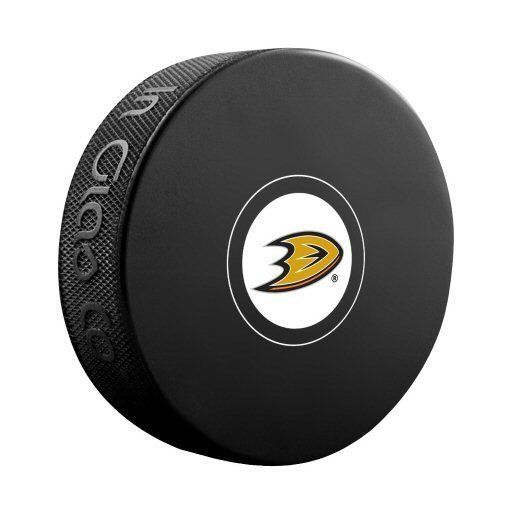 Anaheim Ducks NHL Hockey Logo Puck - Dynasty Sports & Framing