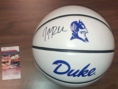 JJ Redick Duke Blue Devils Autographed Basketball - Dynasty Sports & Framing