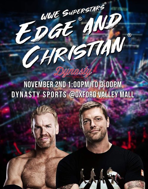 WWE® Superstars Edge™ and Christian™ Experience (November 2nd)