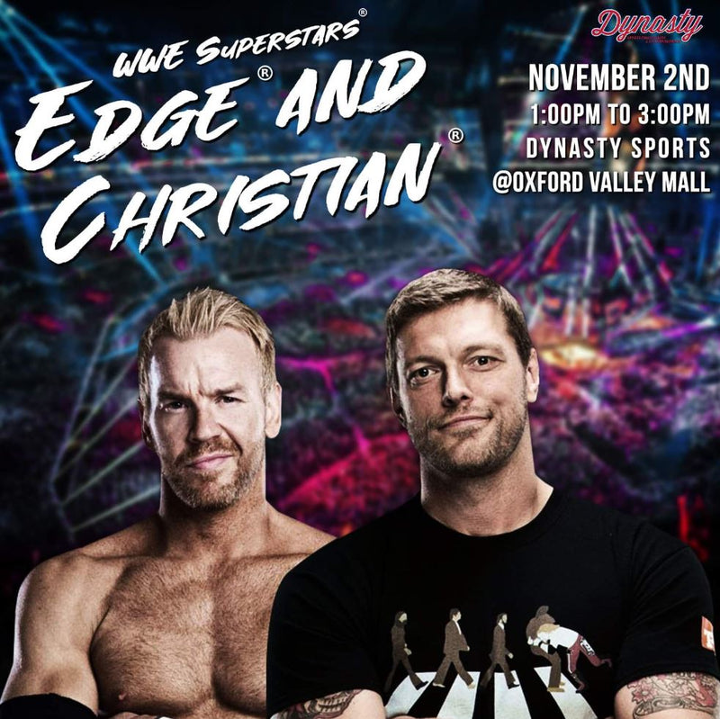 WWE® Superstars Edge™ and Christian™ Experience (POSTPONED)