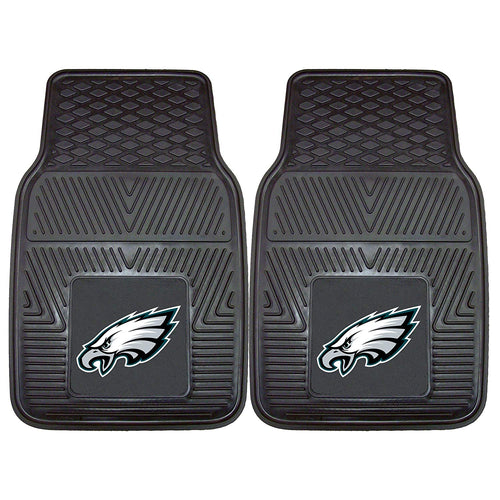Philadelphia Eagles NFL Football Front Row Vinyl Heavy Duty Car Mat - 2 Piece