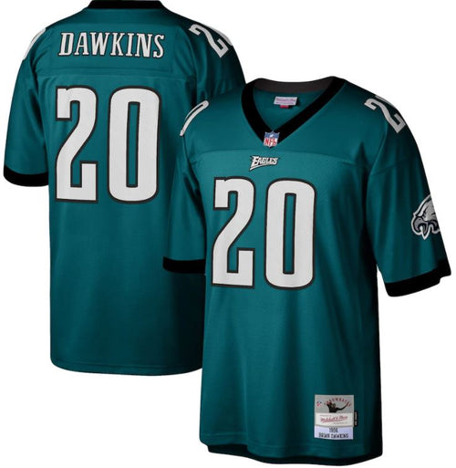 Brian Dawkins Philadelphia Eagles Mitchell & Ness 1996 Legacy Replica Jersey - Dynasty Sports & Framing