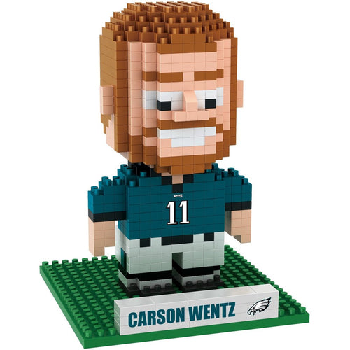 Carson Wentz Philadelphia Eagles 3D Player BRXLZ Puzzle - Dynasty Sports & Framing