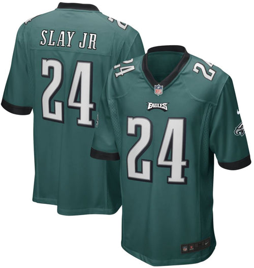 Darius Slay, Jr. Philadelphia Eagles Nike Green Game Jersey - Dynasty Sports & Framing