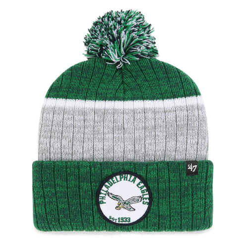 Philadelphia Eagles Legacy Holcomb '47 Brand Cuff Knit Hat - Dynasty Sports & Framing