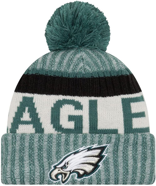Philadelphia Eagles On-Field Sport Knit Beanie Hat - Dynasty Sports & Framing