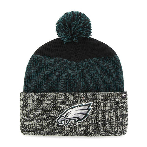 Philadelphia Eagles '47 Brand Men's Static Cuffed Knit Hat - Dynasty Sports & Framing