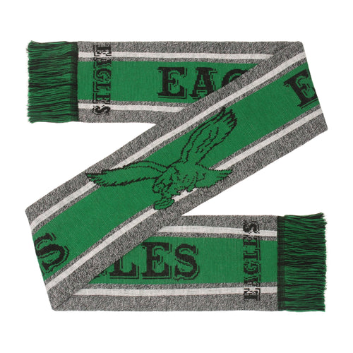 Philadelphia Eagles Retro Charcoal Logo Scarf