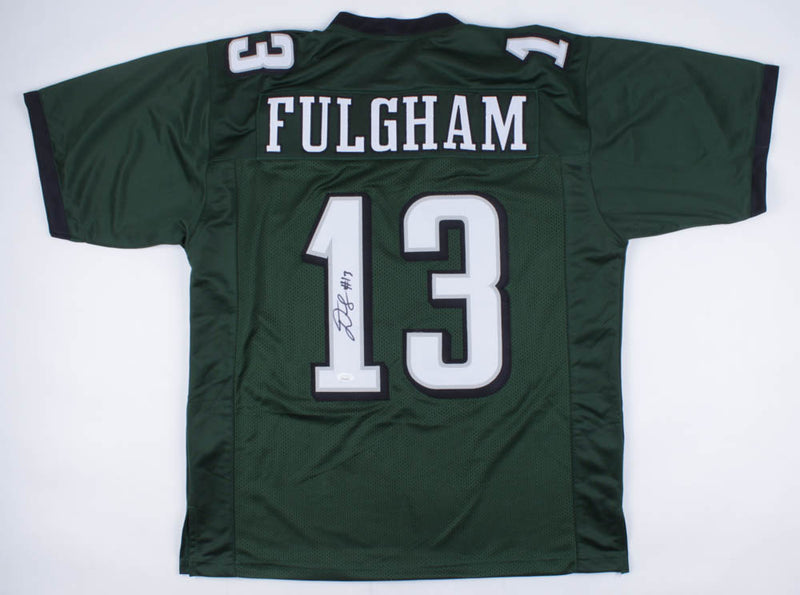 Travis Fulgham Philadelphia Eagles Autographed Jersey - Dynasty Sports & Framing