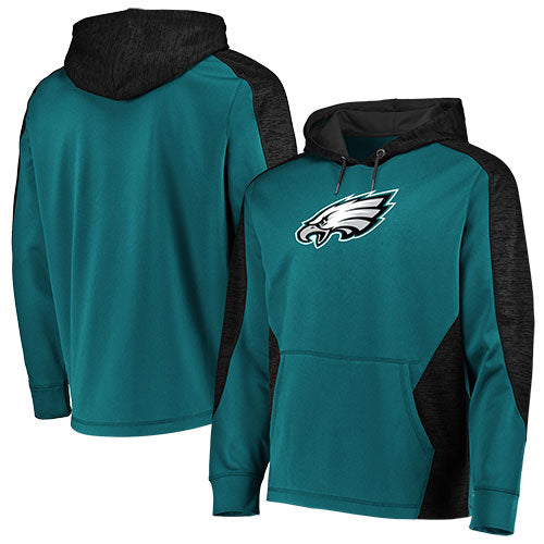 Philadelphia Eagles NFL Football Majestic Armor Pullover Hooded Sweatshirt