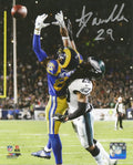 Philadelphia Eagles Avonte Maddox v. The Rams Autographed NFL Football Photo