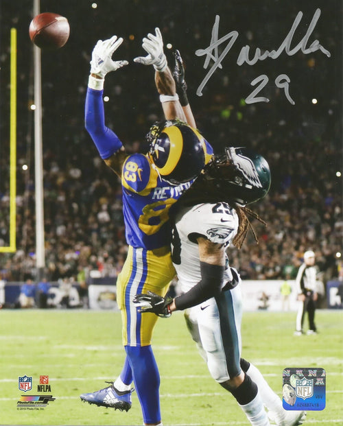 Avonte Maddox v. The Rams Philadelphia Eagles Autographed NFL Football Photo - Dynasty Sports & Framing