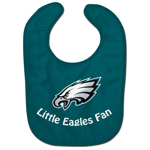 Philadelphia Eagles NFL Football Baby Bib (Green)