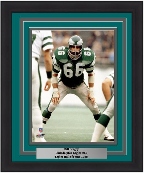 "Bill Bergey in Action Philadelphia Eagles 8"" x 10"" Framed Football Photo - Dynasty Sports & Framing"