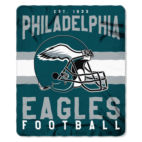 "Philadelphia Eagles NFL Football 50"" x 60"" Singular Fleece Blanket - Dynasty Sports & Framing"