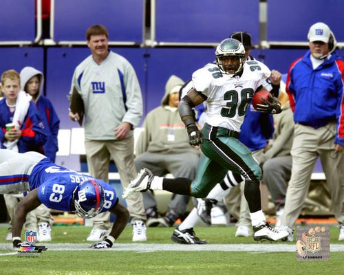 "Brian Westbrook Punt Return v. Giants Philadelphia Eagles NFL Football 8"" x 10"" Photo - Dynasty Sports & Framing"
