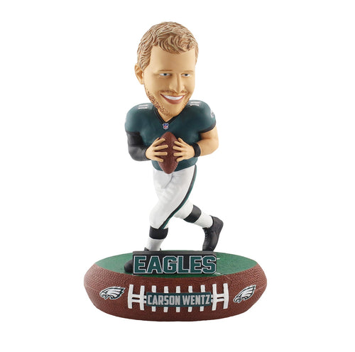 Carson Wentz Philadelphia Eagles Baller Bobble Head - Dynasty Sports & Framing