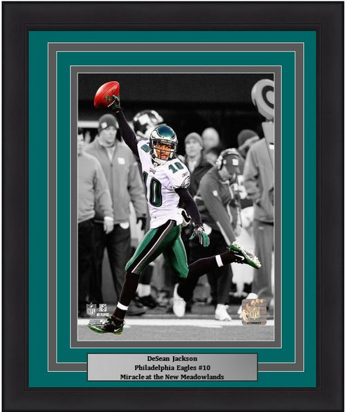 "DeSean Jackson Philadelphia Eagles Punt Return NFL Football 8"" x 10"" Framed and Matted Photo"