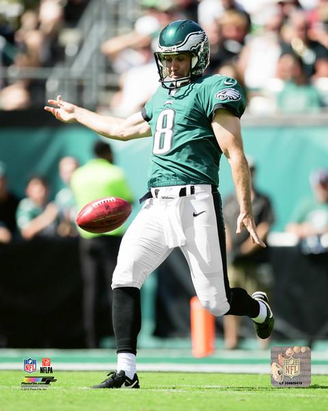 "Donnie Jones in Action Philadelphia Eagles NFL Football 8"" x 10"" Photo"