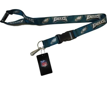 Philadelphia Eagles NFL Football Breakaway Green Lanyard - Dynasty Sports & Framing