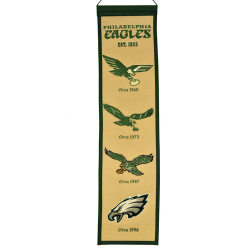 Philadelphia Eagles NFL Heritage Banner - Dynasty Sports & Framing