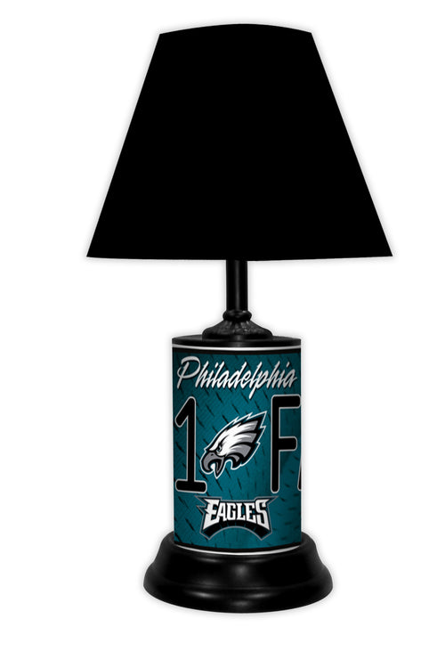 Philadelphia Eagles NFL Football #1 Fan Lamp
