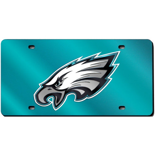 Philadelphia Eagles Laser Cut License Plate - Dynasty Sports & Framing