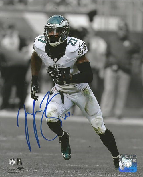 Philadelphia Eagles Malcolm Jenkins Spotlight Autographed NFL Football Photo