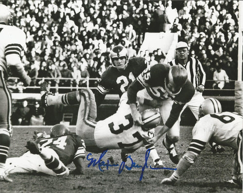 "Maxie Baughan Philadelphia Eagles Autographed 8"" x 10"" Photo - Dynasty Sports & Framing"