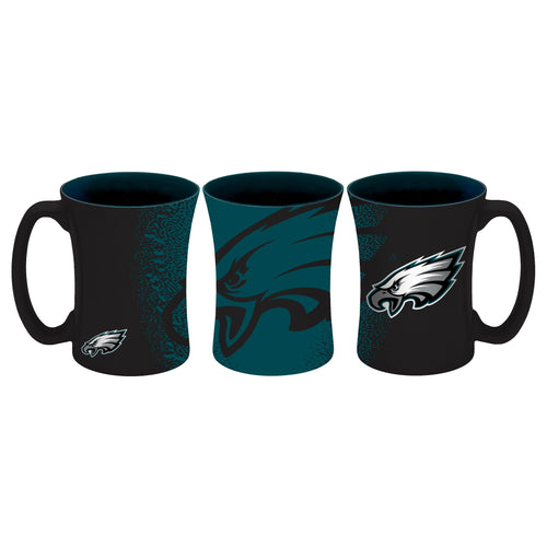 Philadelphia Eagles NFL Football 14 oz. Mocha Mug - Dynasty Sports & Framing