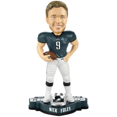 Philadelphia Eagles Super Bowl LII Champions Nick Foles NFL Bobblehead