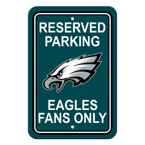 Philadelphia Eagles NFL Football Parking Sign