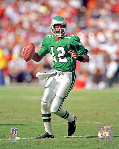 "Randall Cunningham in Action Philadelphia Eagles NFL Football 8"" x 10"" Photo - Dynasty Sports & Framing"