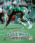 "Philadelphia Eagles Reggie White Minister of Defense 8"" x 10"" Photo - Dynasty Sports & Framing  - 1"