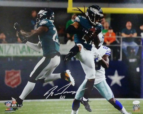 Ronald Darby v. Cowboys Philadelphia Eagles Autographed NFL Football Photo - Dynasty Sports & Framing