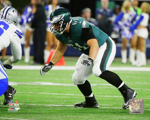 "Philadelphia Eagles Stefen Wisniewski NFL Football 8"" x 10"" Photo"
