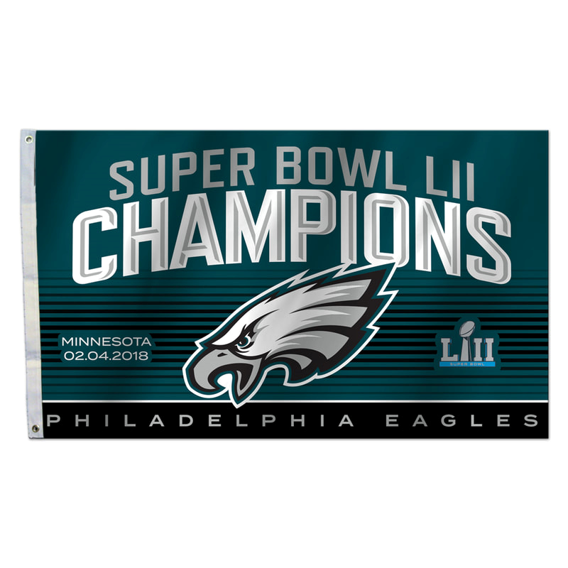 Philadelphia Eagles NFL Super Bowl LII Champions 3' x 5' Flag