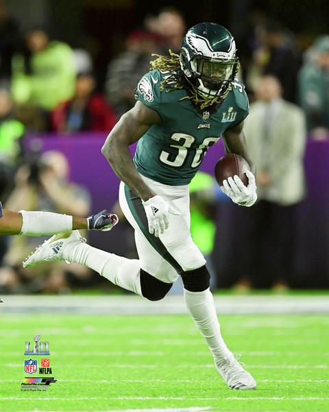 Philadelphia Eagles Jay Ajayi Super Bowl LII NFL Football Photo