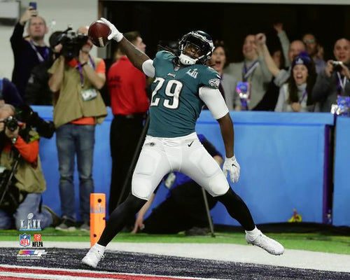 Philadelphia Eagles LeGarrette Blount Super Bowl LII NFL Football Photo