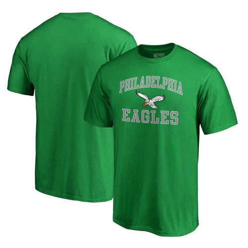 Philadelphia Eagles Vintage Victory Arch T-Shirt – Kelly Green