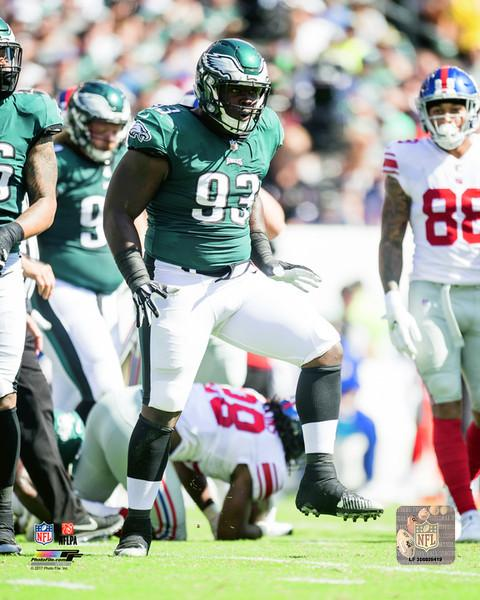 Philadelphia Eagles Timmy Jernigan NFL Football Photo