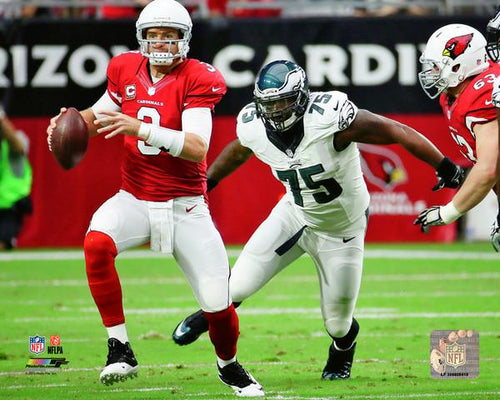 Vinny Curry in Action Philadelphia Eagles Football Photo - Dynasty Sports & Framing
