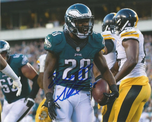 "Wendell Smallwood Celebration Philadelphia Eagles Autographed 8"" x 10"" Photo"