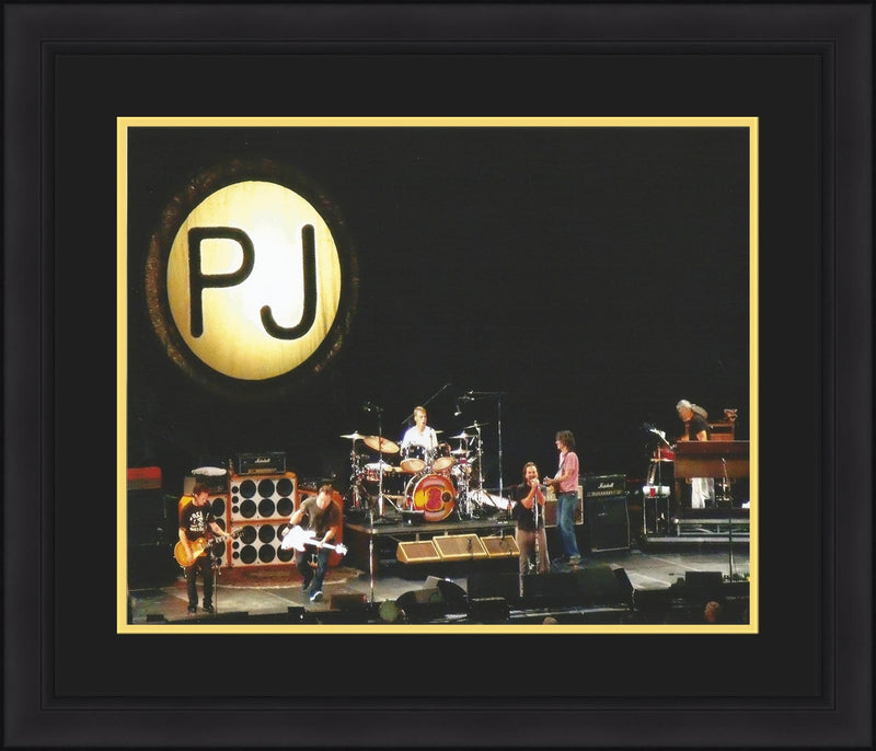 Pearl Jam Backspacer Tour Framed and Matted Photo - Dynasty Sports & Framing