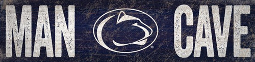 Penn State Nittany Lions Man Cave Wooden Sign