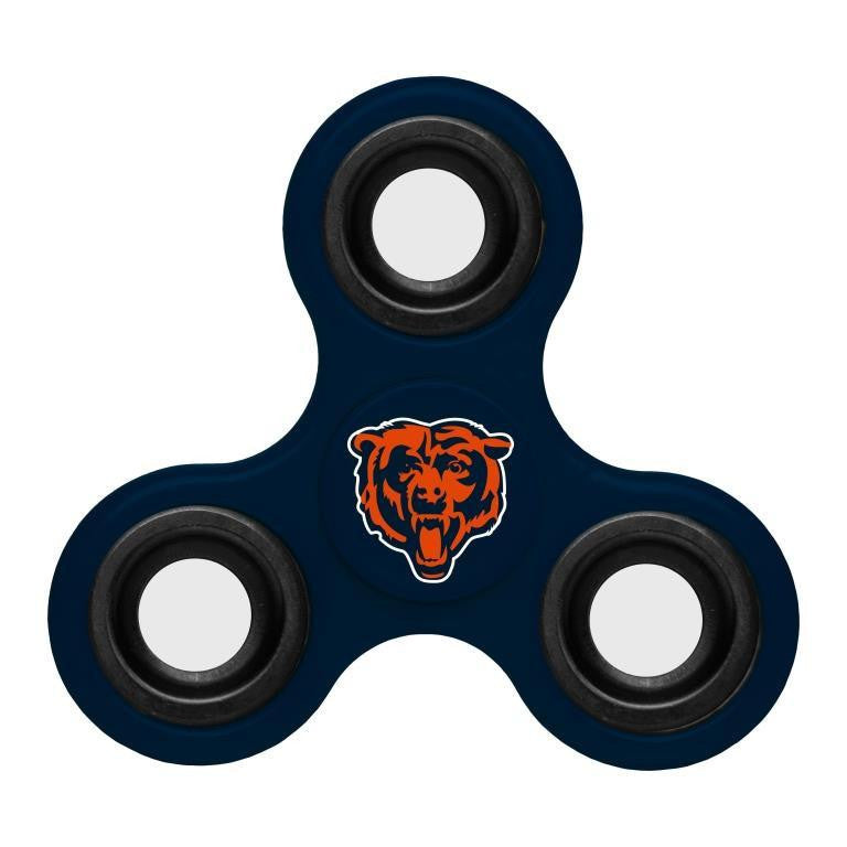 Chicago Bears NFL Spinnerz | Football Three-Way Distracto Spinners ...