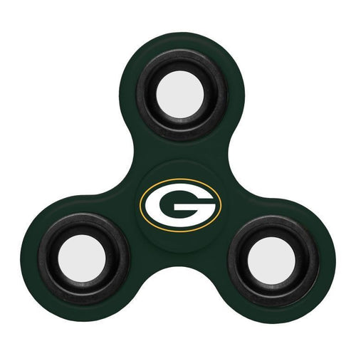 Green Bay Packers NFL Three Way Team Diztracto Spinner (Spinnerz) - Dynasty Sports & Framing