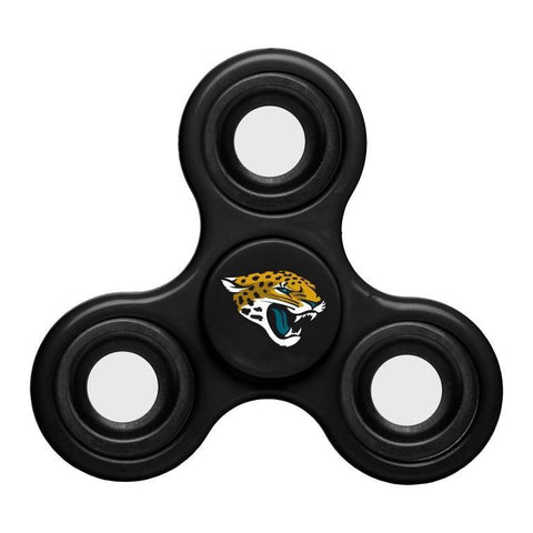 Jacksonville Jaguars NFL Three Way Team Diztracto Spinner (Spinnerz)
